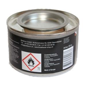 Bio Flame Brennpaste Karton à 12 Dosen zu 200 gr